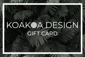 Koakoa Design Gift Card