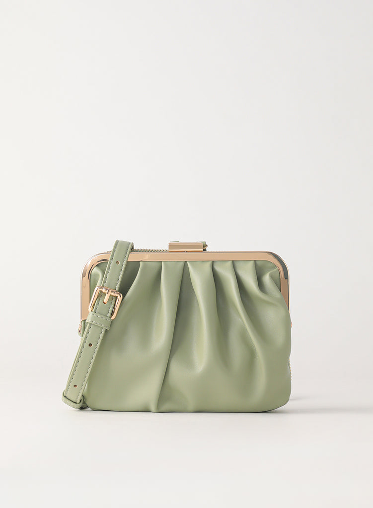 Tuscani Clutch Mini Bag | Avocado Green