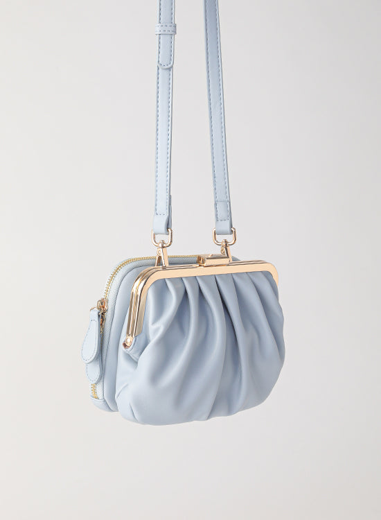 Tuscani Clutch Mini Bag | Baby Blue