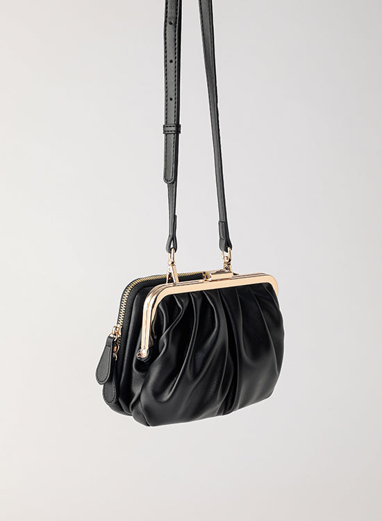 [พร้อมส่ง] Tuscani Clutch Mini | Black