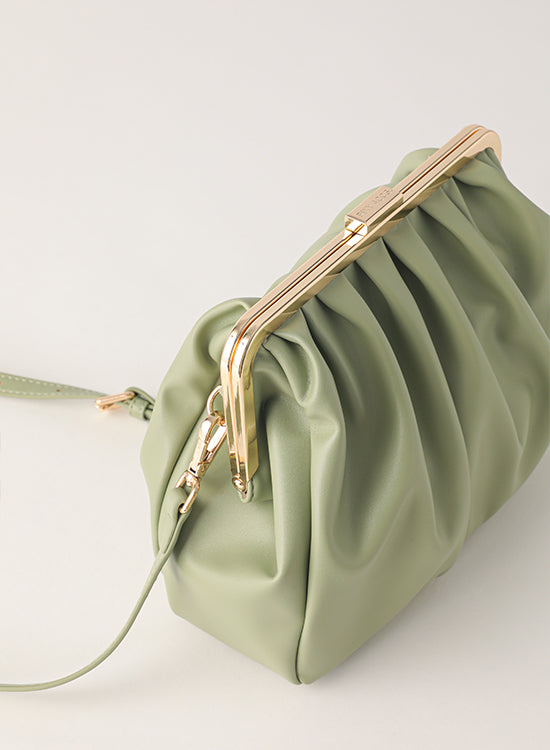 Tuscani Clutch Bag | Avocado Green