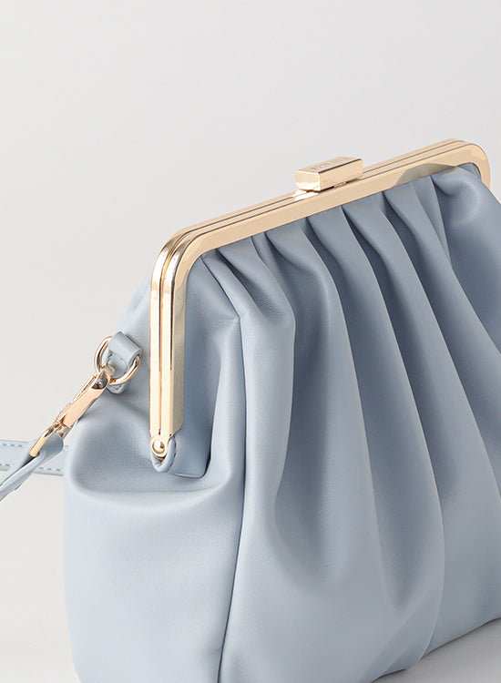 Tuscani Clutch Bag | Baby Blue