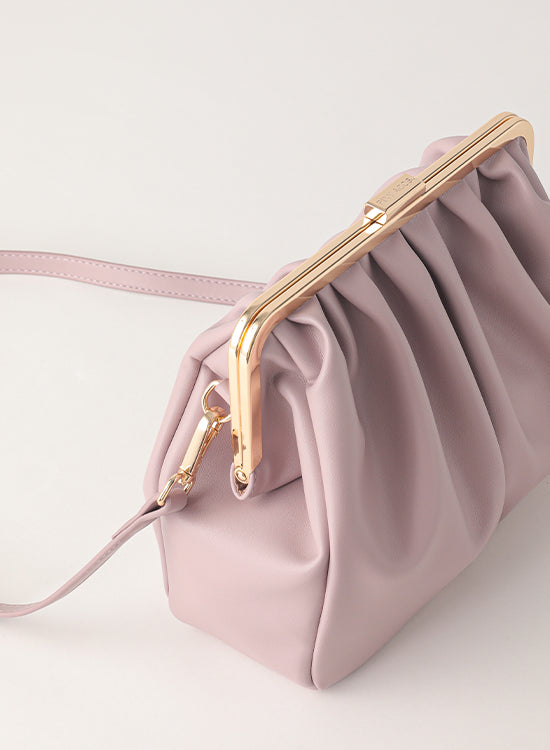 Tuscani Clutch Bag | Light Purple