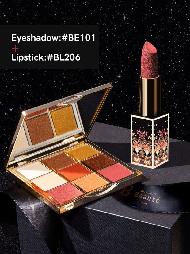 <b> Lipstick Eye Shadow Palette Package Set</b>
