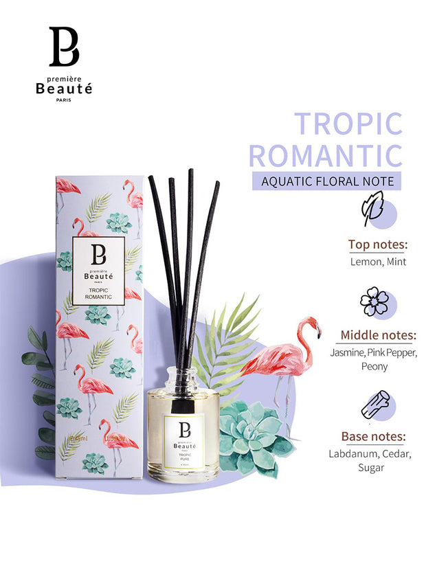 <b> Reed Diffuser Tropic Series 45ml </b><br>Long Lasting, Natural & Imported Flavor