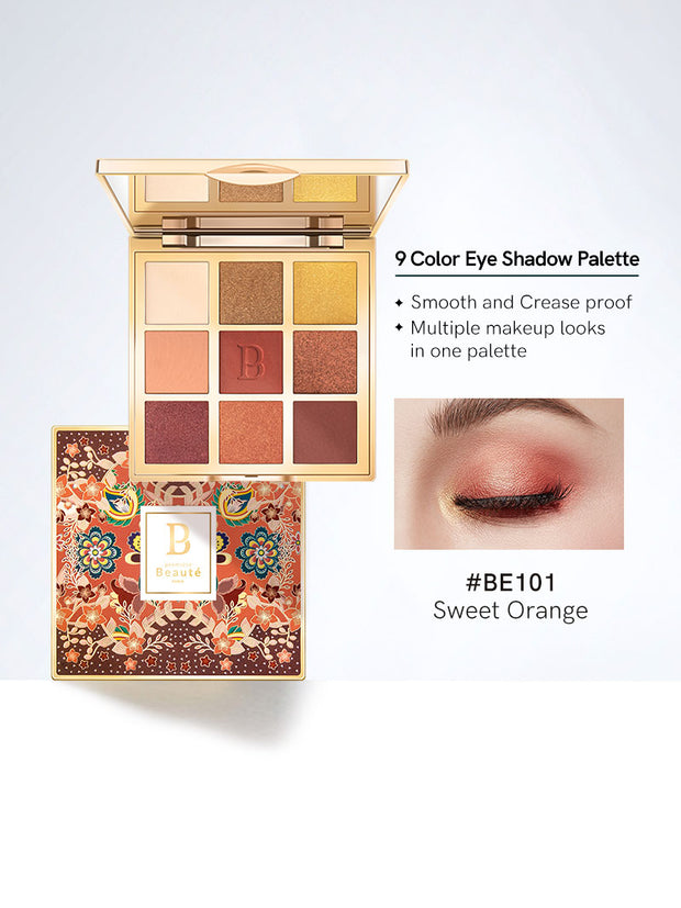 <b>All-in-one Eye Shadow Palette 9 colors Buy 2 get 1 gift</b>
