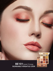 <b> All-in-one Eye Shadow Palette 9 Color Sweet Orange Buy 2 get 1 gift</b><br>