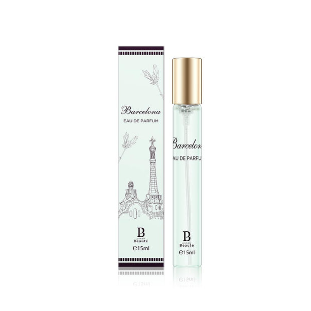 <b>City Series Barcelona Eau De Parfum 15ml/5ml</b><br>Leather/male