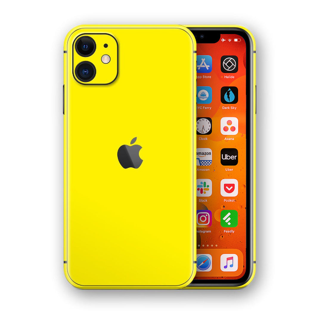 iPhone 11 Phone Case Cover Yellow
