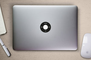 iPod laptop decal sticker accessory