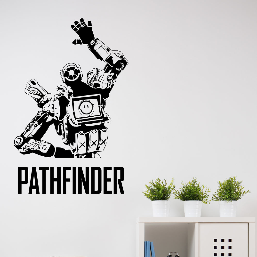 Apex Legends Pathfinder Wall Decal