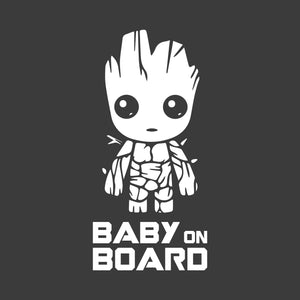 Baby on Board Vehicle Decal | Groot