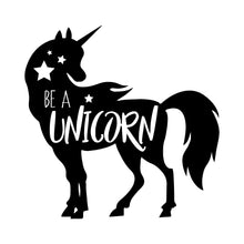 Load image into Gallery viewer, Be a Unicorn Wall Decal