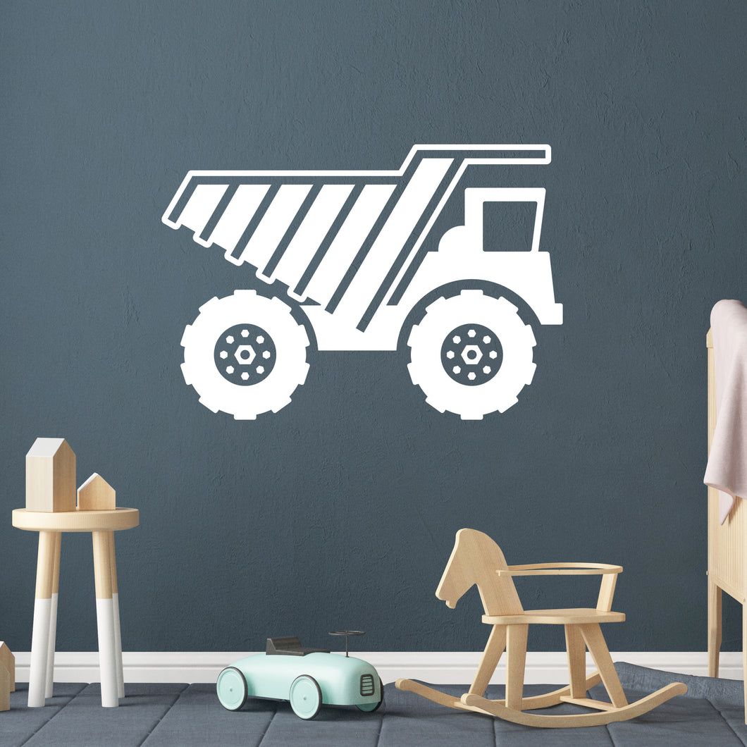 Big Truck Wall Decal