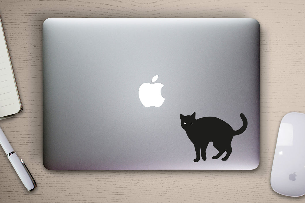 Cat MacBook Decal Sticker