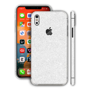 iPhone X Diamond White Skin