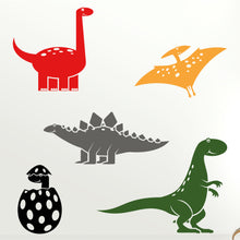 Load image into Gallery viewer, Dinosaur Wall Decals