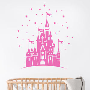 Magical Disneyland Castle Wall Decal Sticker