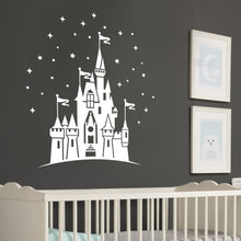 Load image into Gallery viewer, Magical Disneyland Castle Wall Decal Sticker