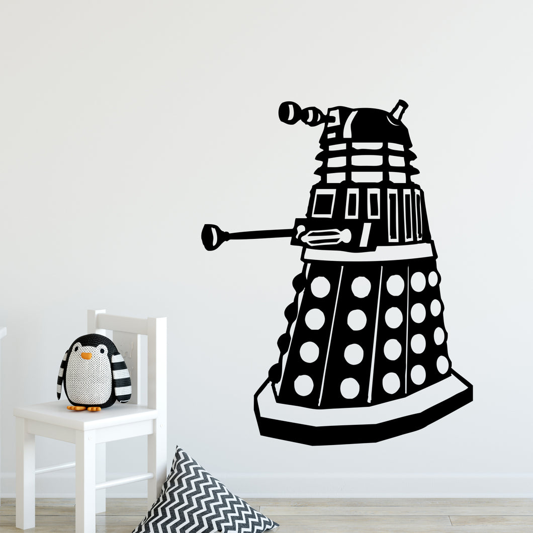 Dalek Wall Decal Sticker
