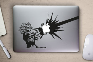 Dragon Ball Z Goku Macbook Decal