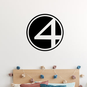 Fantastic 4 Wall Decal Sticker