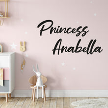 Load image into Gallery viewer, Princess Wall Decals for Girls Room