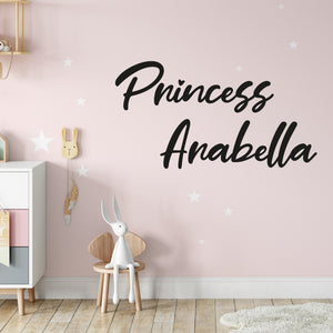 Princess Wall Decals for Girls Room