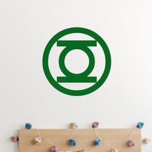 Load image into Gallery viewer, Green Lantern Wall Decal