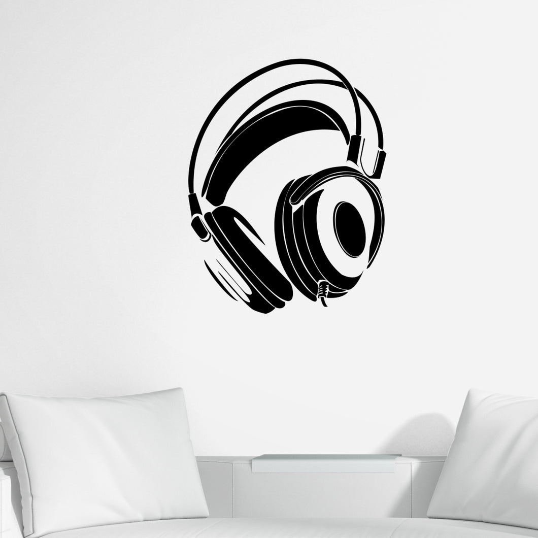 Headphone Wall Decals