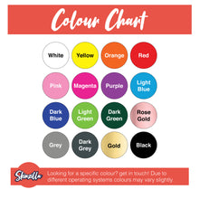 Load image into Gallery viewer, Colour Chart Skinzilla Bumper Decals