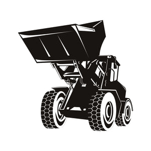JCB Tractor Wall Decals