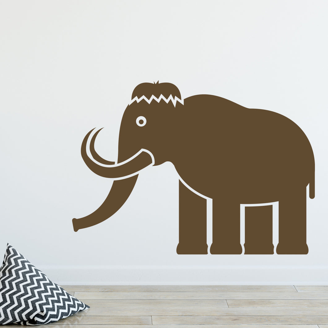 Mammoth Wall Decal Sticker