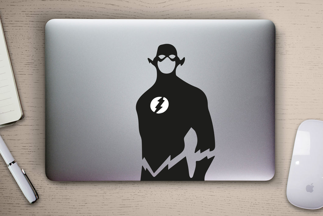 The Flash Marvel MacBook Decal