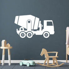 Load image into Gallery viewer, Mixer Truck Wall Decal