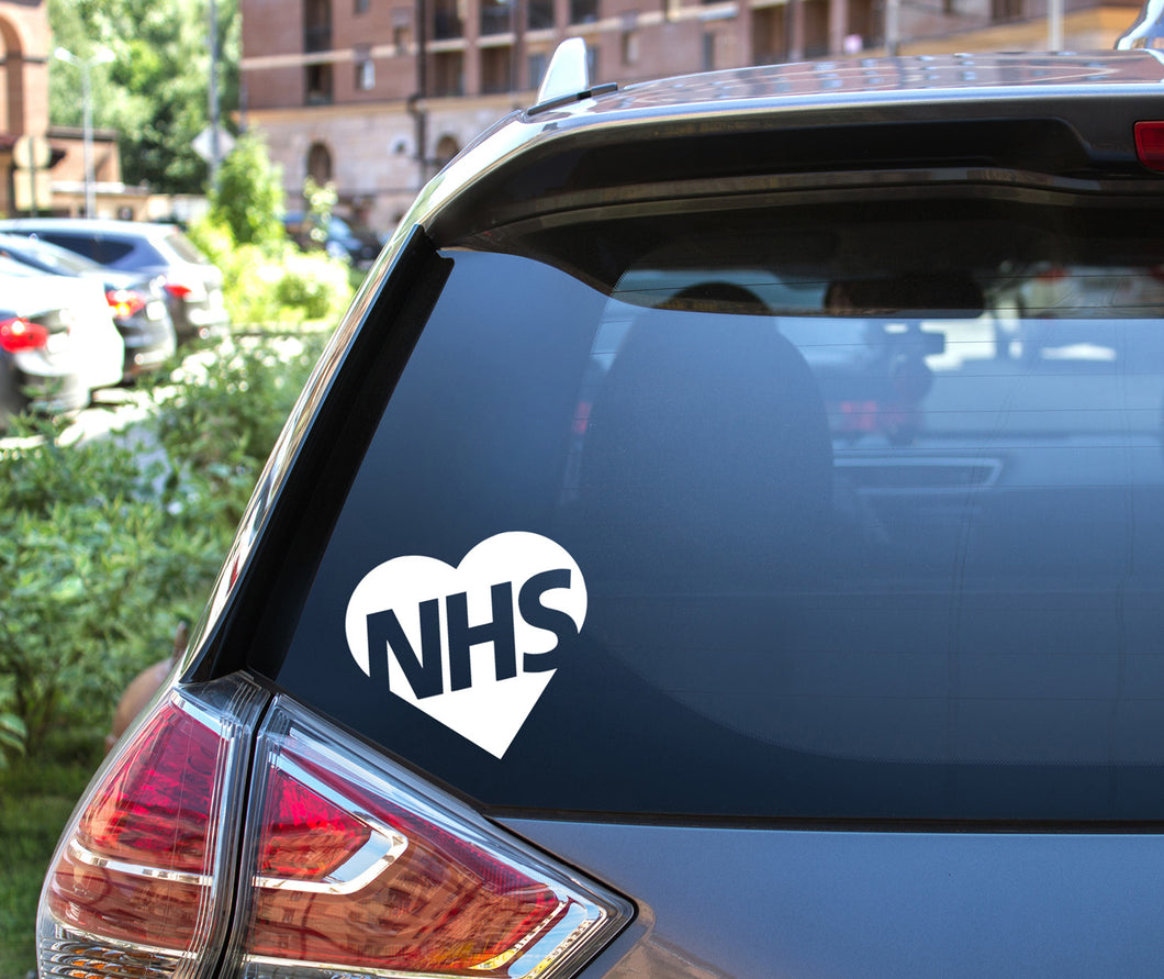 Thank you NHS Window Decal Sticker
