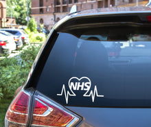 Load image into Gallery viewer, Thank you NHS & Keyworkers Window and Bumper Decal Sticker