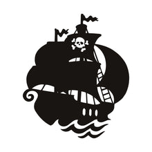 Load image into Gallery viewer, Pirate Ship Wall Decal