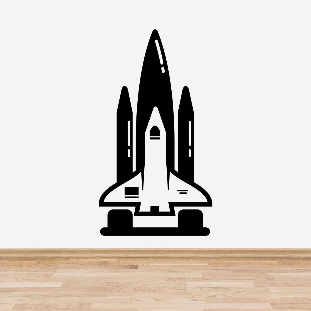 Space Shuttle Bedroom Wall