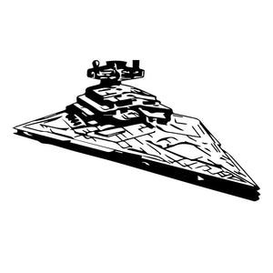 Star Wars Star Destroyer Wall Decal