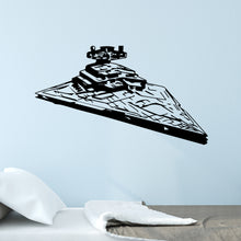 Load image into Gallery viewer, Star Wars Star Destroyer Wall Decal