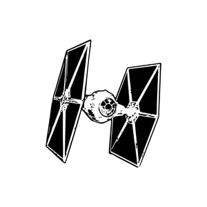 Star Wars Tie Fighter Wall Decal