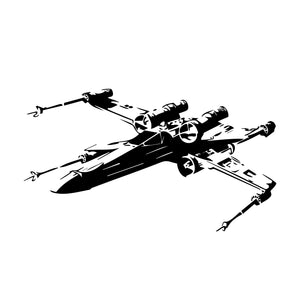 Star Wars X-wing Wall Decal