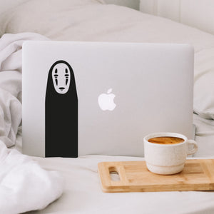 Studio Ghibli No Face Laptop Decal Sticker