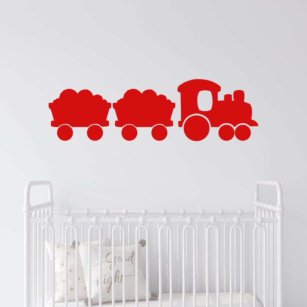 Toy Train Wall Decal