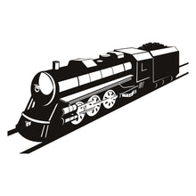 Load image into Gallery viewer, Steam Train Wall Decal