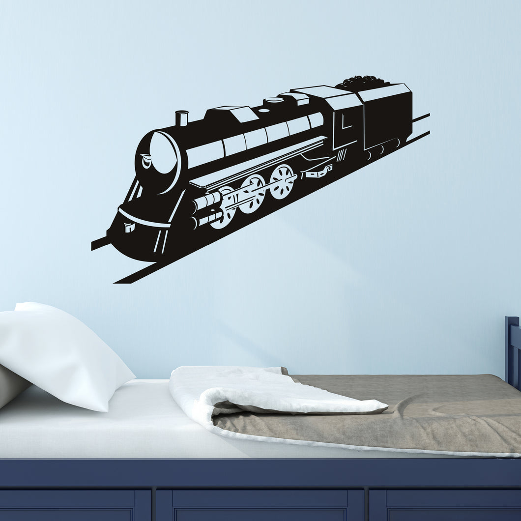 Steam Train Wall Decal
