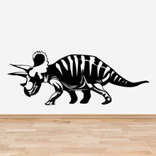 Load image into Gallery viewer, Triceratops Dinosaur Wall Decal