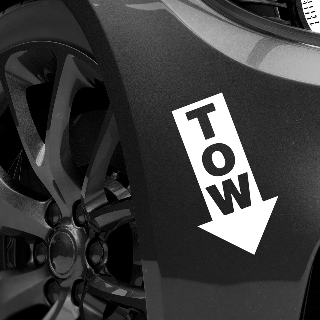 Tow Point Decal