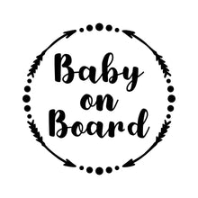 Load image into Gallery viewer, Baby on board Decal